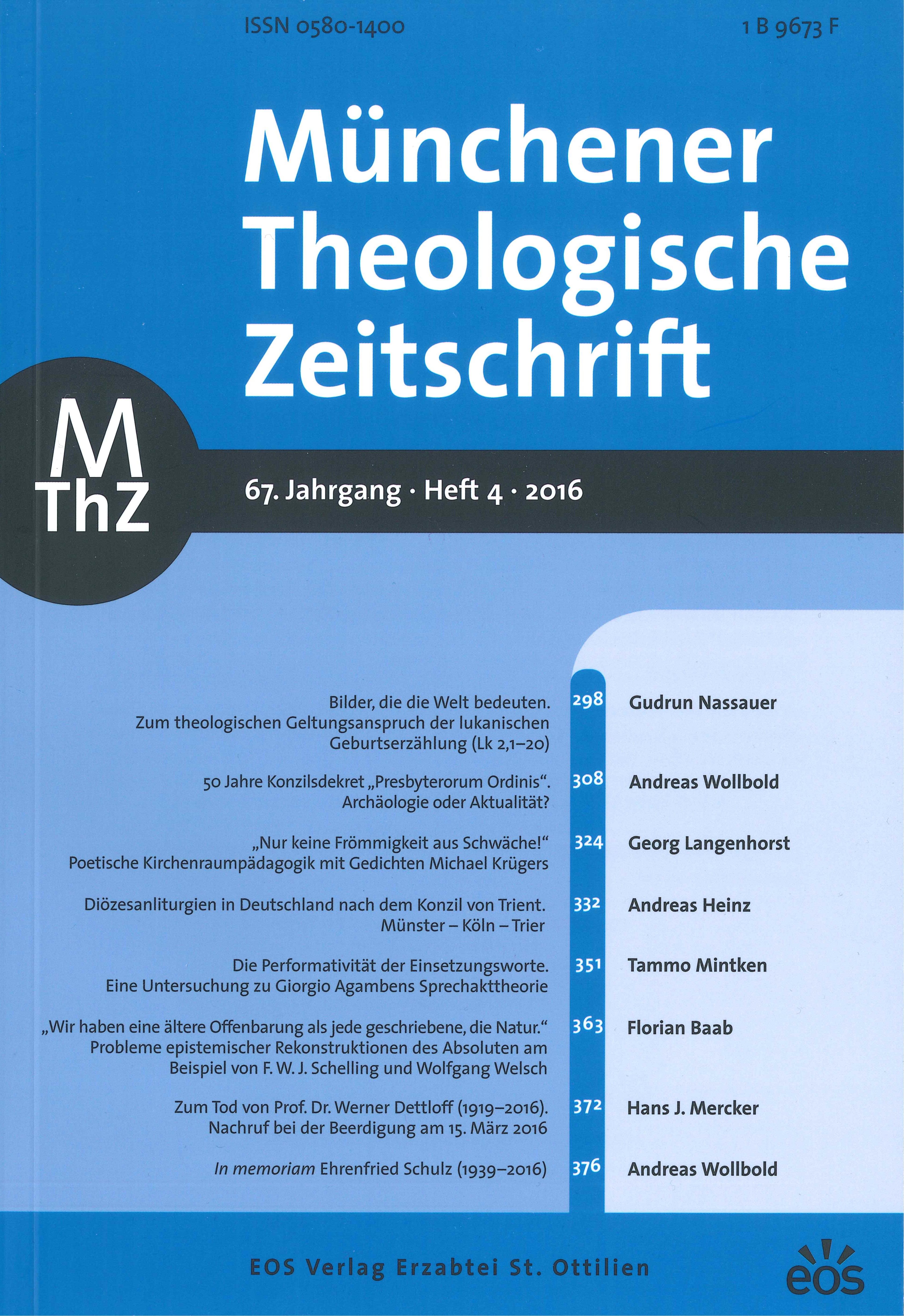 Ansehen Bd. 67 Nr. 4 (2016)