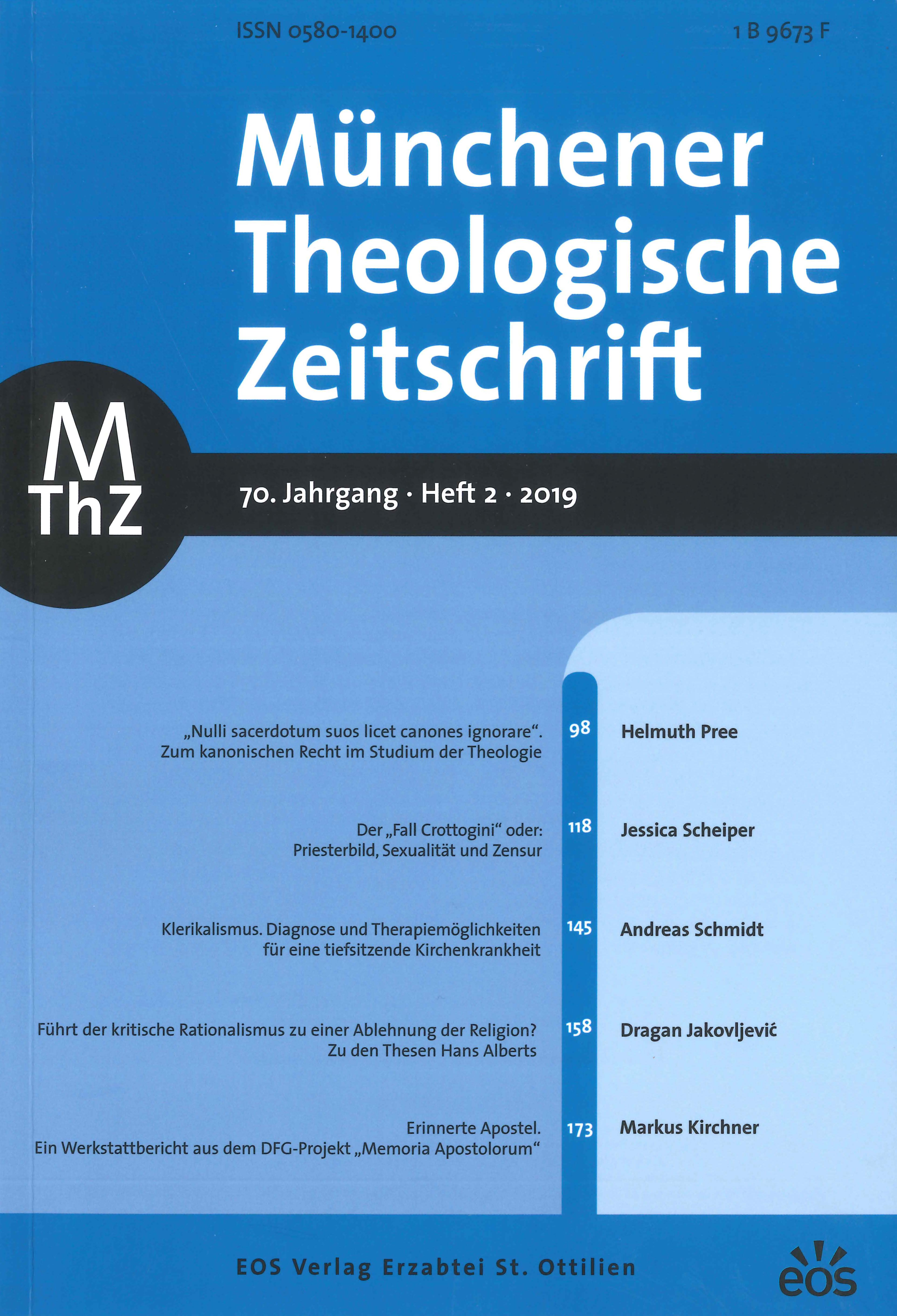 Ansehen Bd. 70 Nr. 2 (2019)